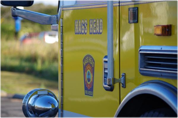Nags Head Fire and Rescue Vehicle
