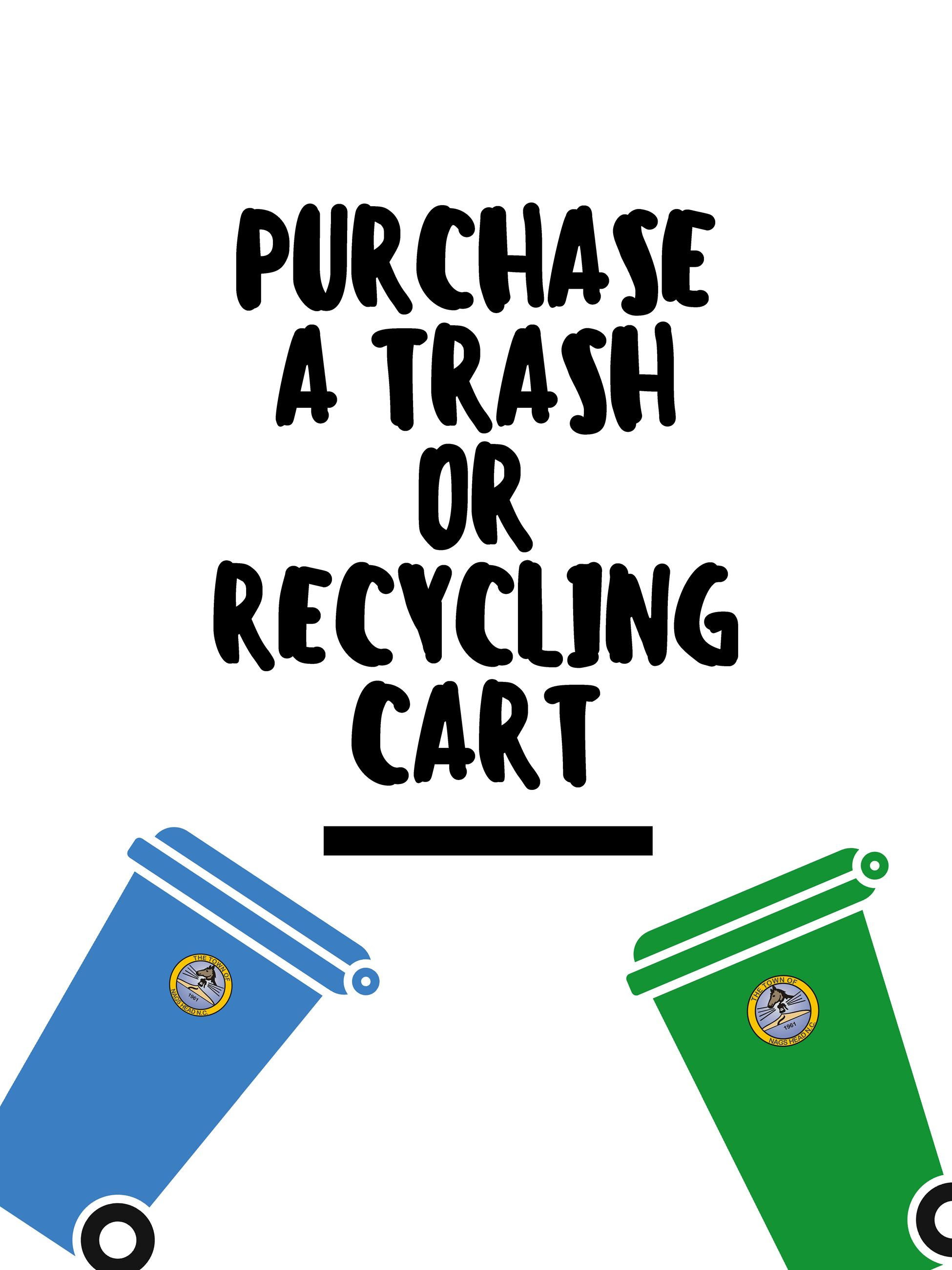 Link to Purchase a Trash or Recycling Cart