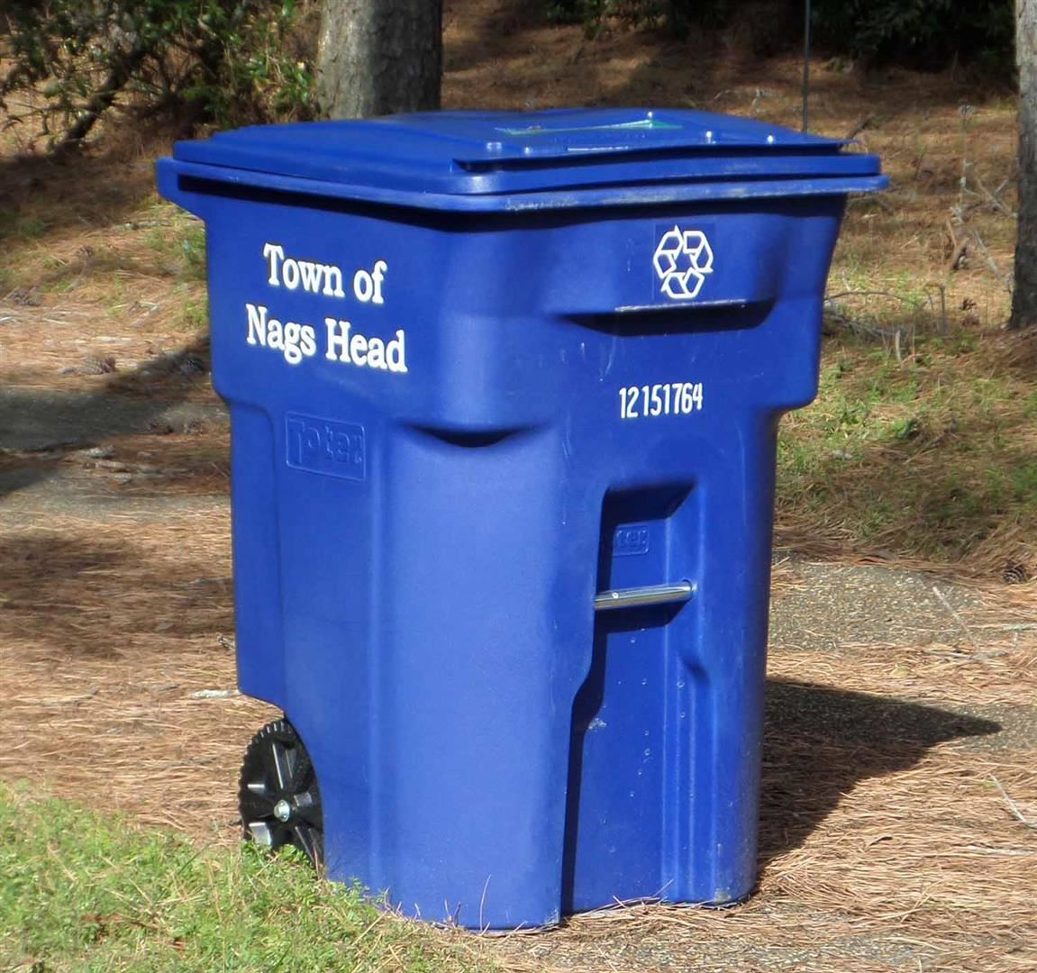 Nags Head Recycling Cart 2020