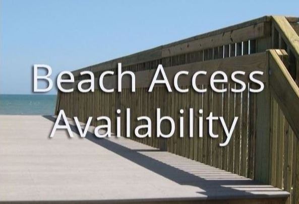Beach Access Availability