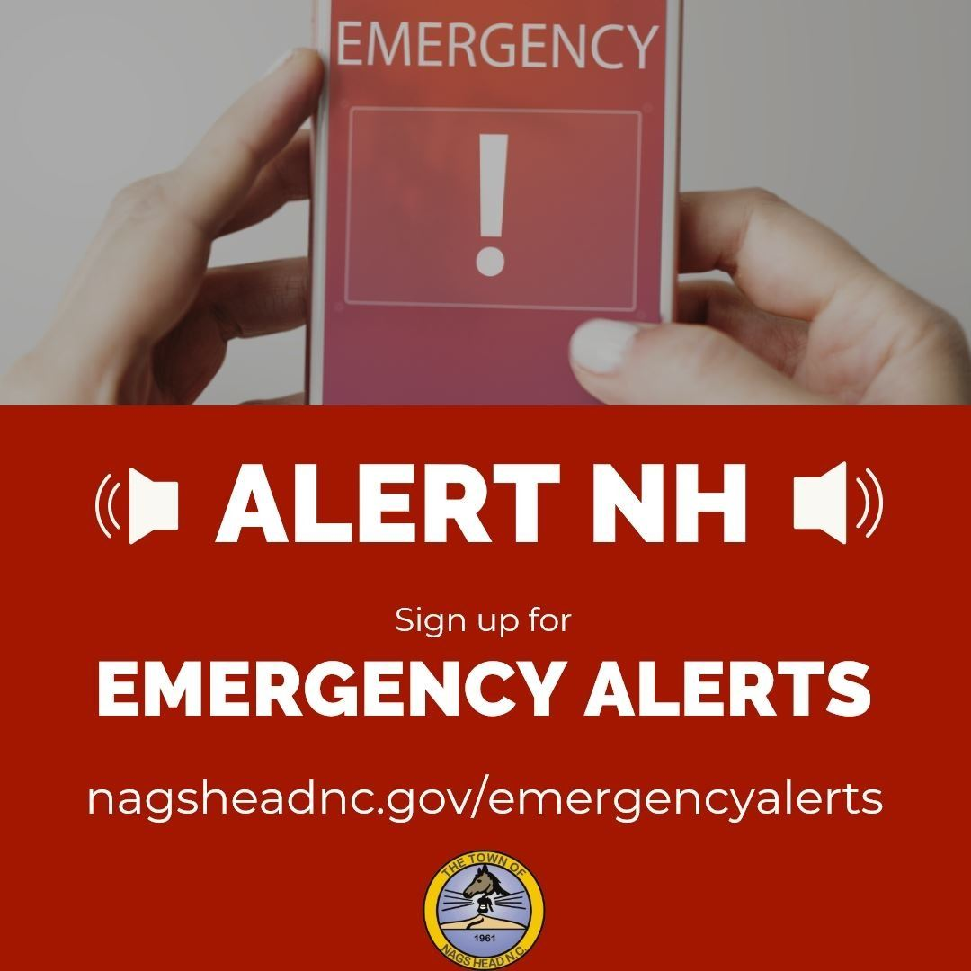 Sign Up to Receive Emergency Alerts from the Town of Nags Head