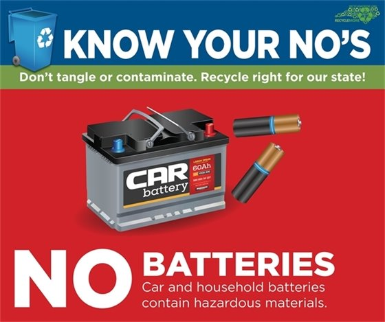 Don't Tangle or Contaminate - No Batteries