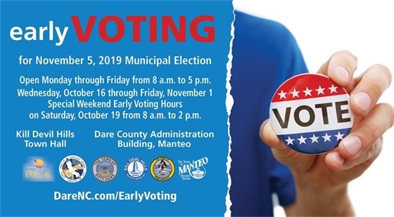 Early Voting October 16 - November 1