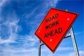 Road Work Ahead