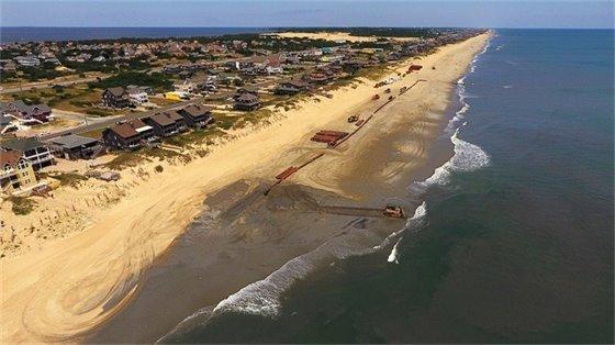 Nags Head Beach Nourishment June 16, 2019