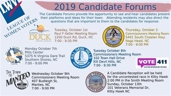 2019 Candidate Forums