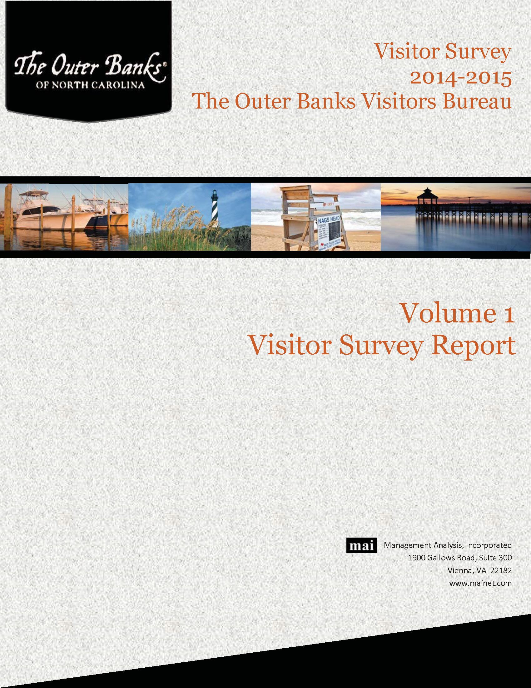 The Outer Banks Visitors Bureau Visitors Survey