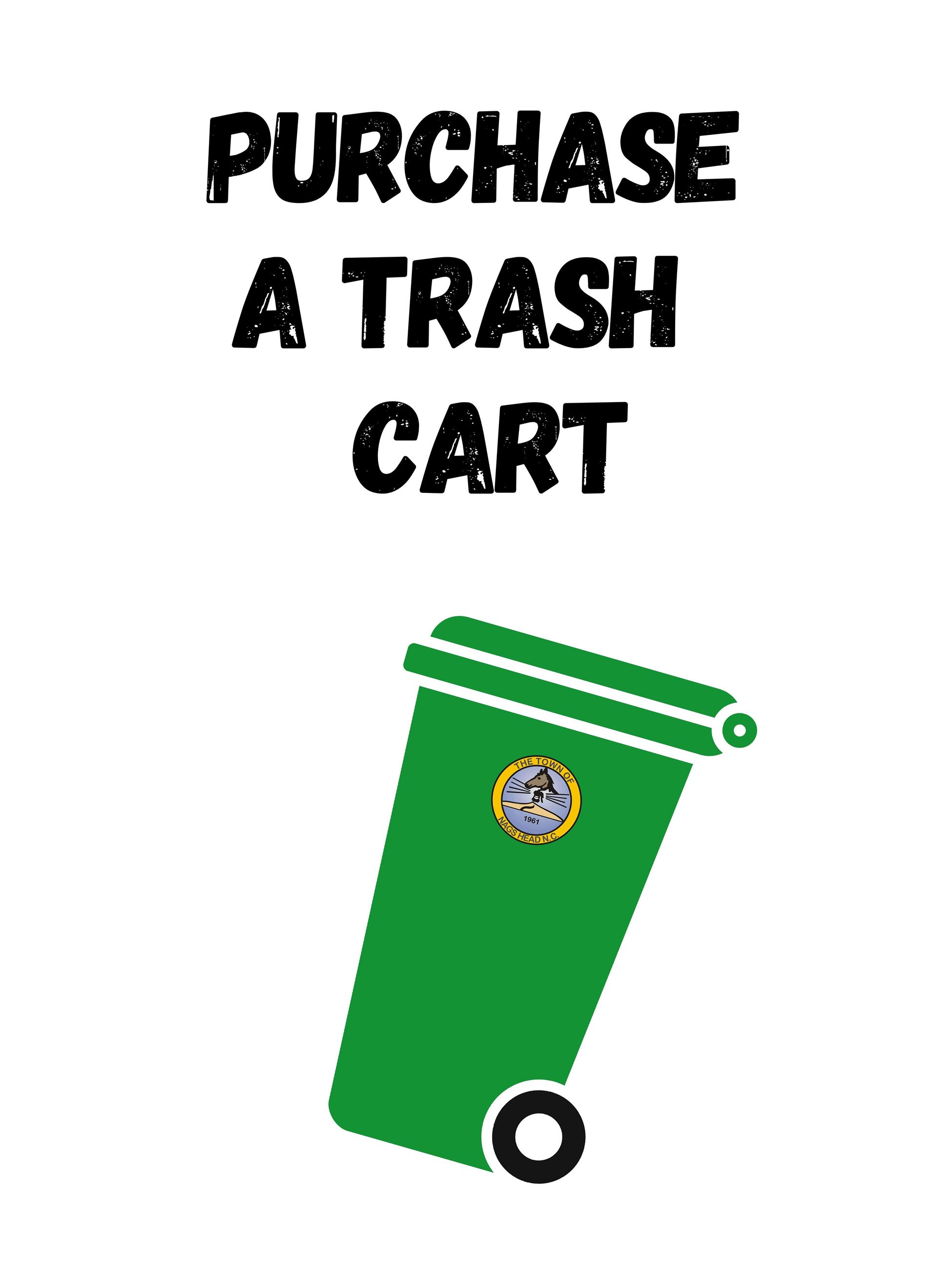 Purchase a Trash Cart Opens in new window