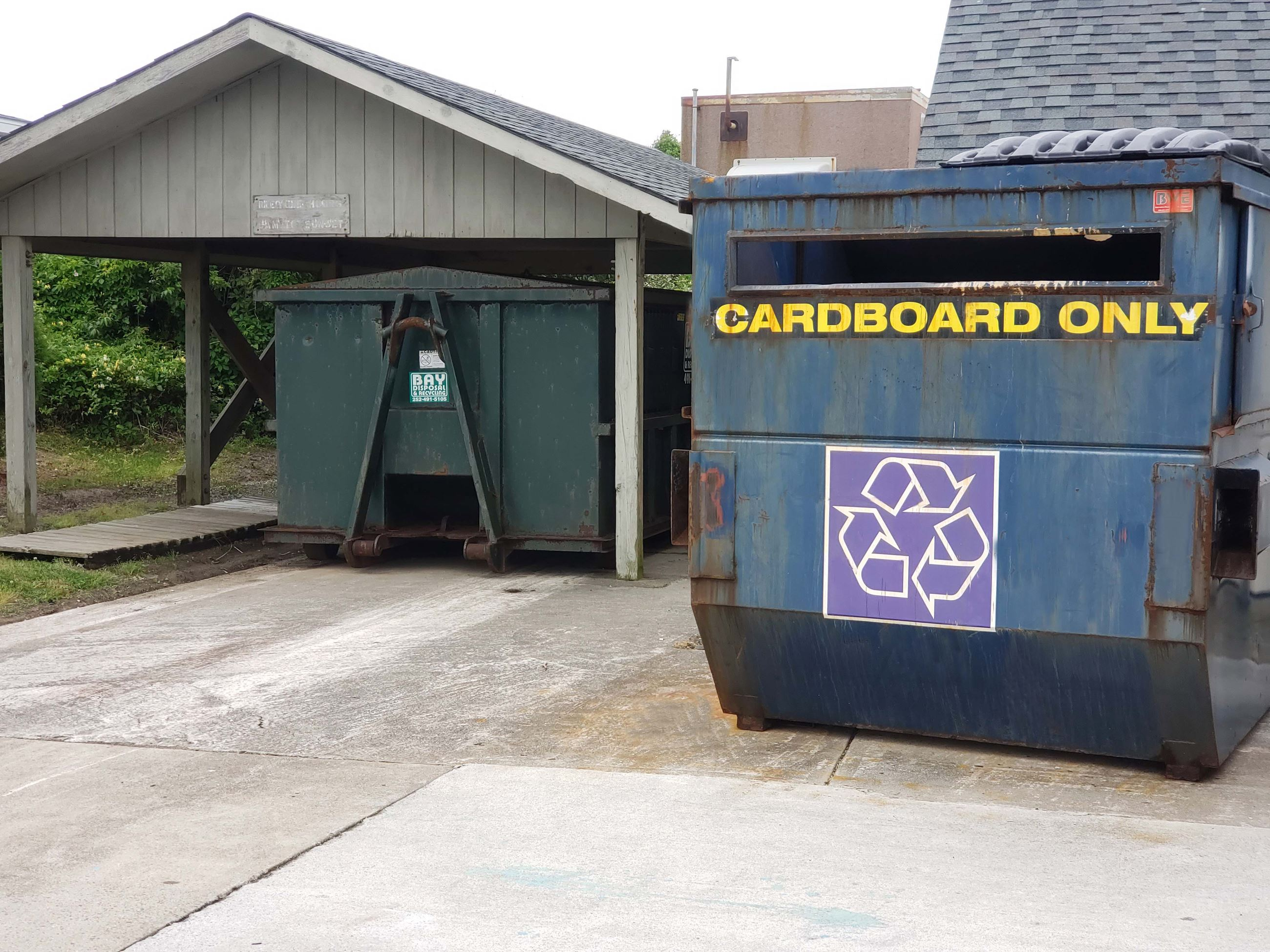 Town Hall Recycling Center