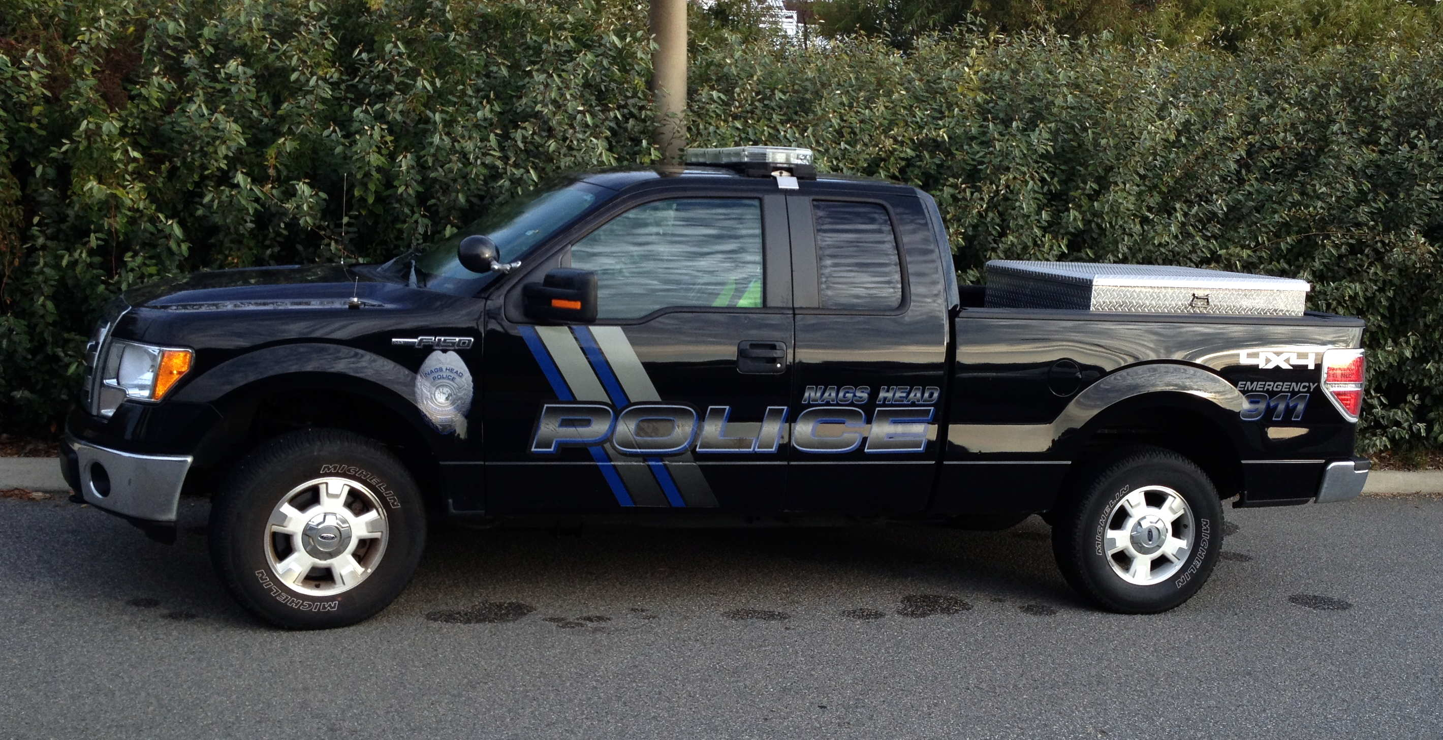 Animal Control Officer Truck